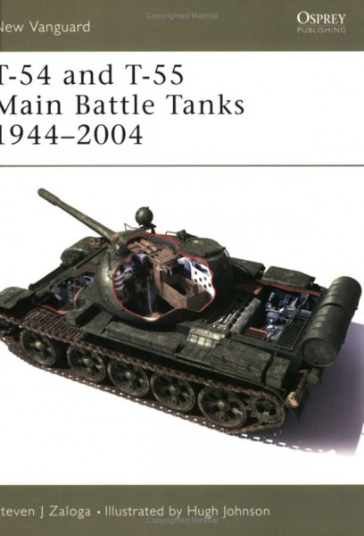 T-54 og T-55 Main Battle Tanks 1944-2004 - NYE VANGUARD 102