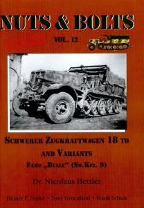 Nuts&Bolts12-Schwerer Zugkraftwagen18 하고 개(SdKfz9)