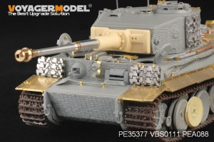 De tweede WERELDOORLOG de duitse Tiger I MEDIO Productie - MODEL VOYAGER PE35377