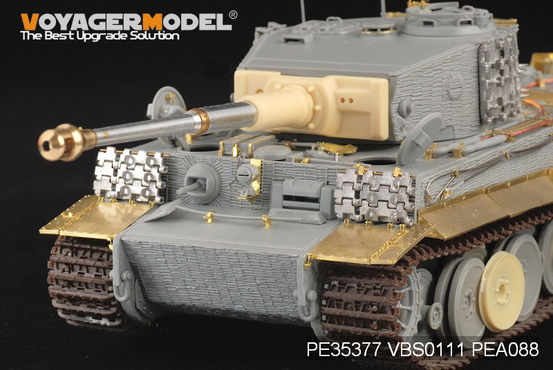 WWII German Tiger som POLOVICE Výroby, VOYAGER MODEL PE35377