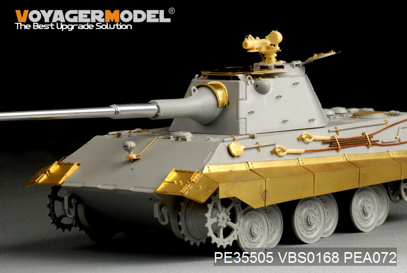 German E-50 Tank - VOYAGER MODEL PE35505 - Kit - English