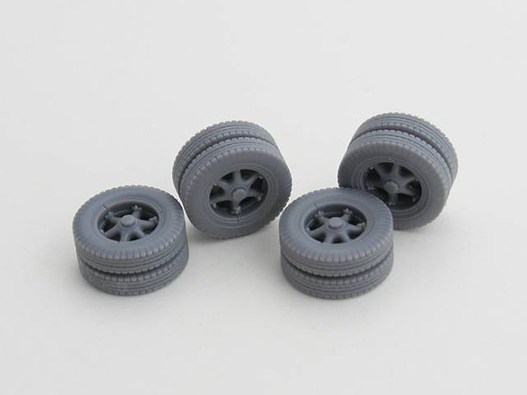 Cart Wheels for German Flak - ARMORSCALE B35-078