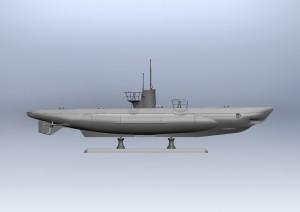 U-보트 유형 IIB(1943 년)-독일 잠수함 ICM S010