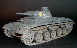 Sd Kfz 141 Panzer III Ausf A - Valstybės S2KV005