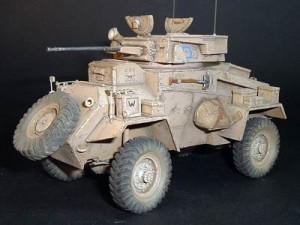 Humber MK I Coche Blindado - Soberano S2KV014