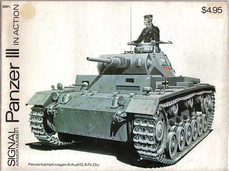Panzer III in Action - Squadron Signal SS2001