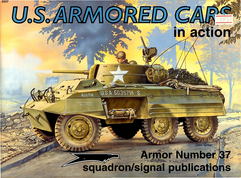 Squadron Signal 2037 - US Armored Cars in action