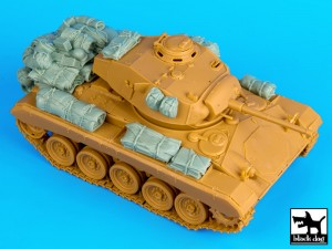 M24 Chaffee accessories set - Black Dog T35070