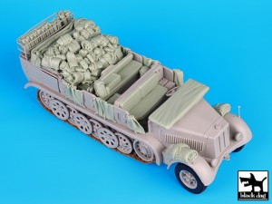 Black Dog T35072 - Sd. Kfz. 8