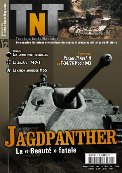 Los tanques multitourelles - Jagdpanther - Revisión de TnT 12