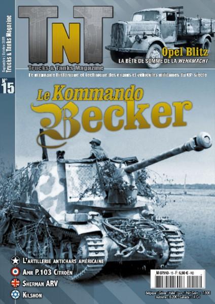 La artillería anti-tanque de NOSOTROS - Baukommando Becker - Revisión de TnT 15