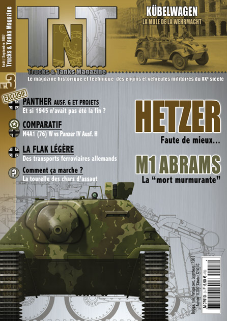 Jagdpanzer 38(t) Hetzer - М1 ABRAMS - Часопис Тнт 03