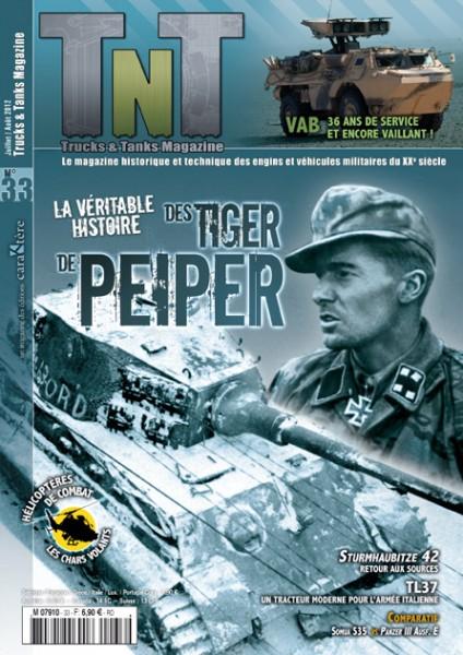 La véritable histoire des tigers de Peiper - Revue TnT 33