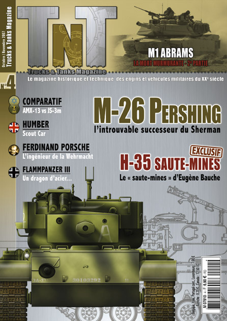 Le M26 PERSHING - Humber Scout car - Revue TnT 04