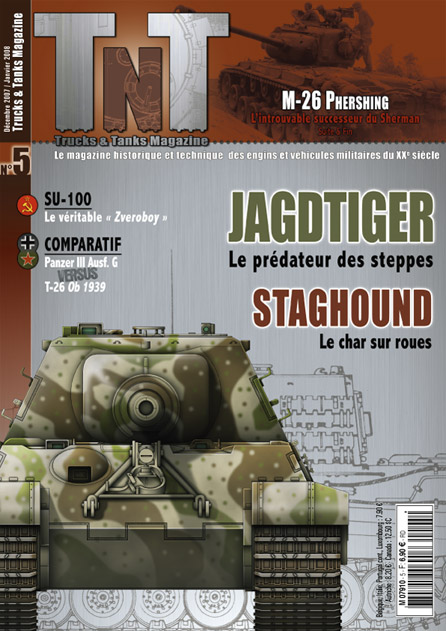 M26 PERSHING Jagdtiger - Review of a TnT 05