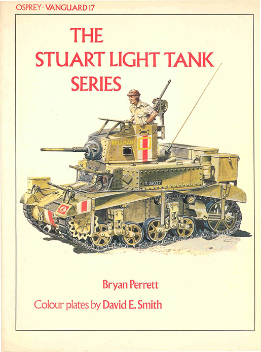Вангуард 17 - The Stuart Light Tank Серија