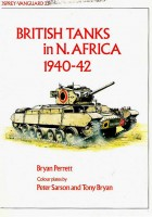 British tanks in North Africa - VANGUARD 23