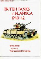 Vanguard 23 - chars Britanniques en Afrique du Nord en 1940