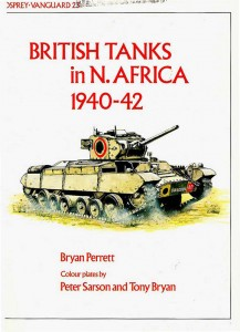 Vanguard 23 - British tanks in North Africa 1940