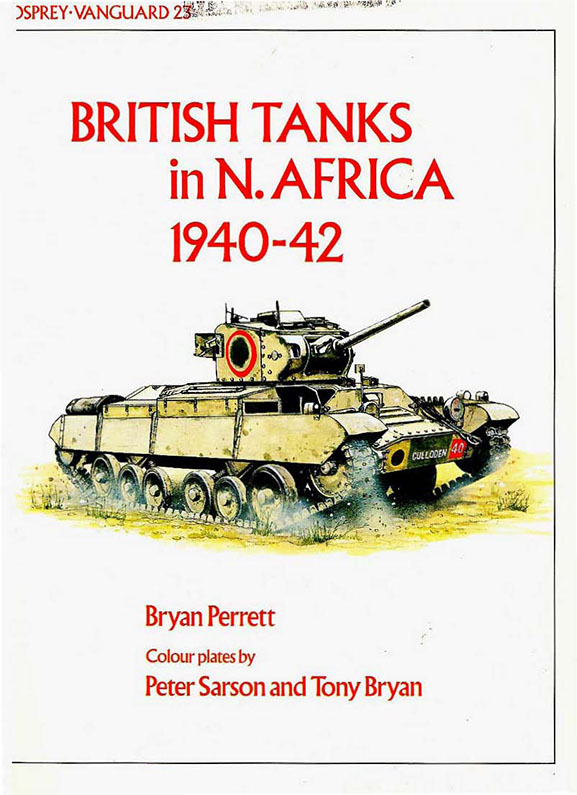 Vanguard 23 British tanks in North Africa 1940