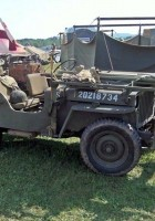 Willys MB Ambulance Jeep - Rond te Lopen