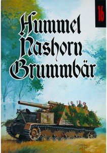 Wydawnictwo Militaria 016 - Hummel,Nashorn,Brummbar