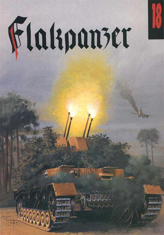 Wydawnictwo Militaria018-Flakpanzer