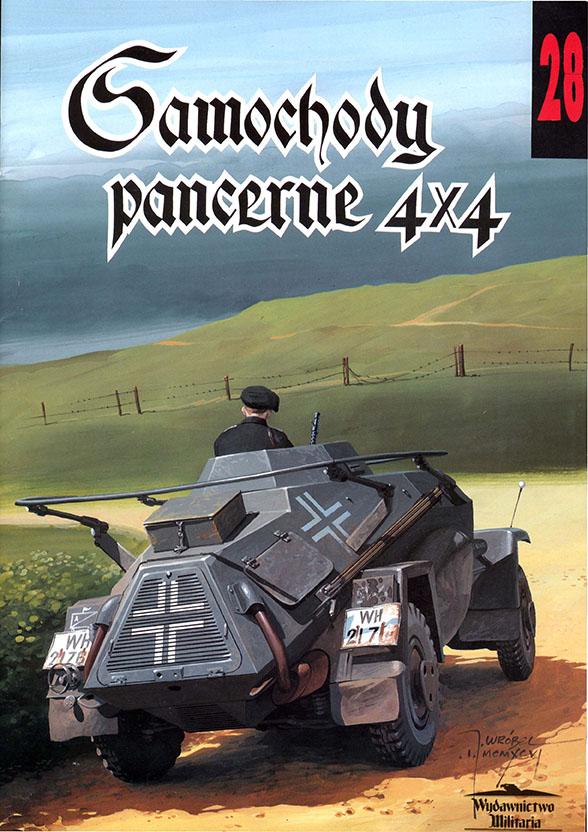 Wydawnictwo Militaria 028 - Samochody pancerne 4x4