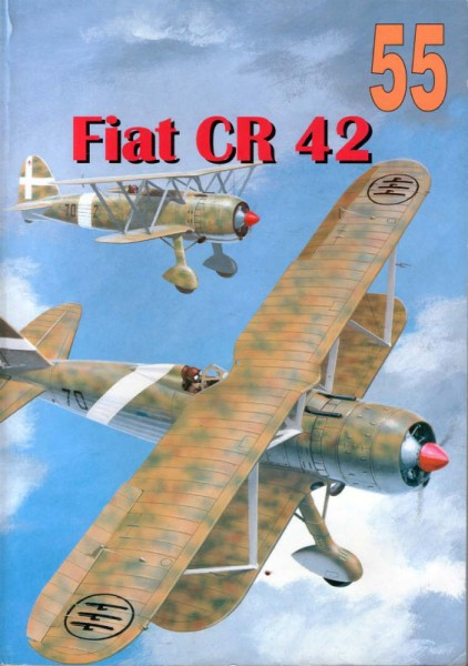 O tratamento Militaria 055 - Fiat CR 42