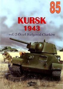 O tratamento Militaria 085 - Kursk 1943 vol 2