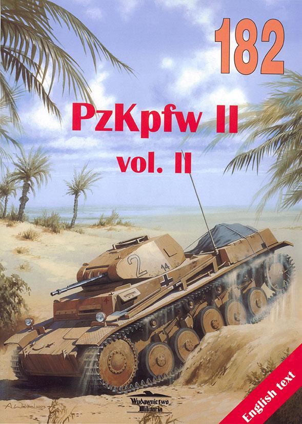 Wydawnictwo Militaria 182 - Pzkpfw II v2