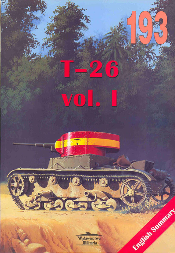 Wydawnictwo Militaria 193 - T-26 v1