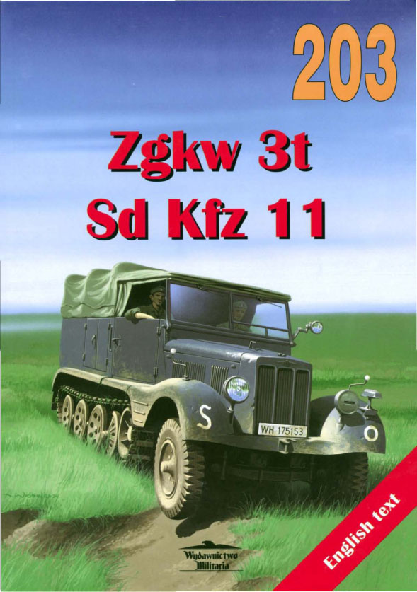 Sdkfz.11 - Wydawnictwo Militaria 203