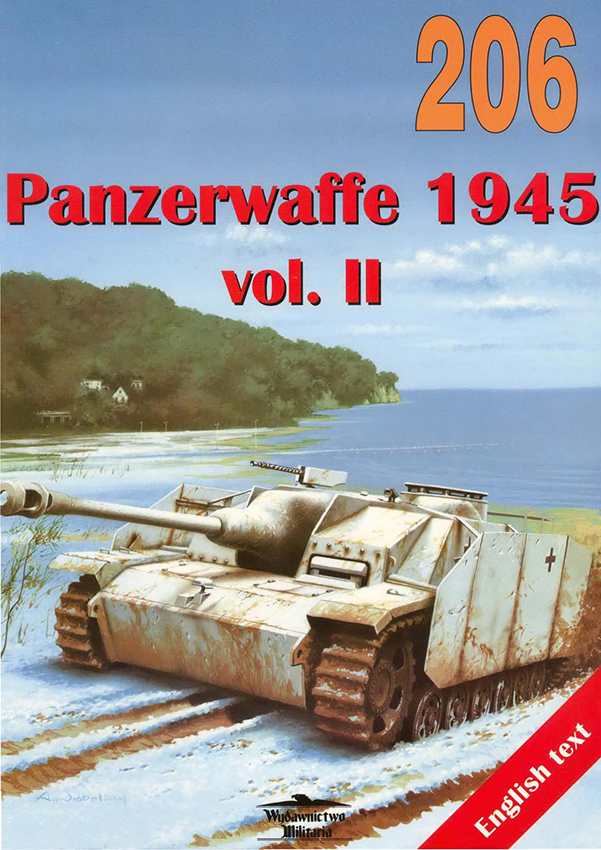 Publishing-military equipment-206-Panzerwaffe-1945-vol-2