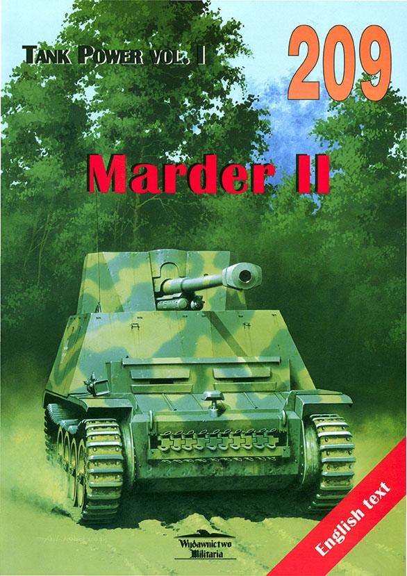 Wydawnictwo Militaria 209 - Marder II