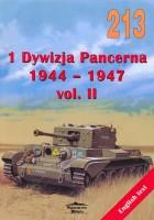 Töötlemise Militaria 213 - 1-ma Танковая Osakond 1944-1947 vol II