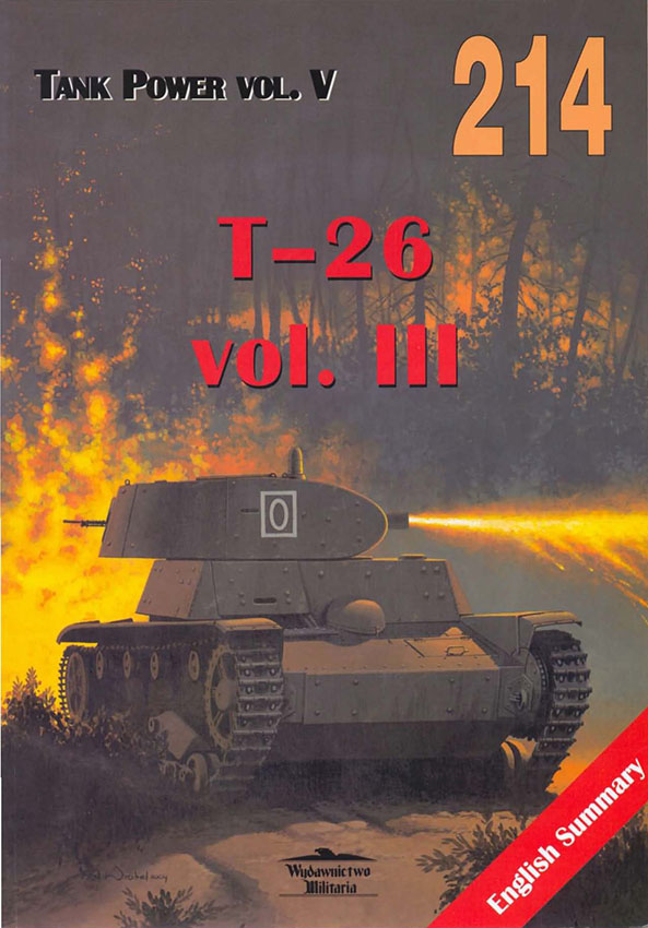 Wydawnictwo Militaria 214 - T-26 v3