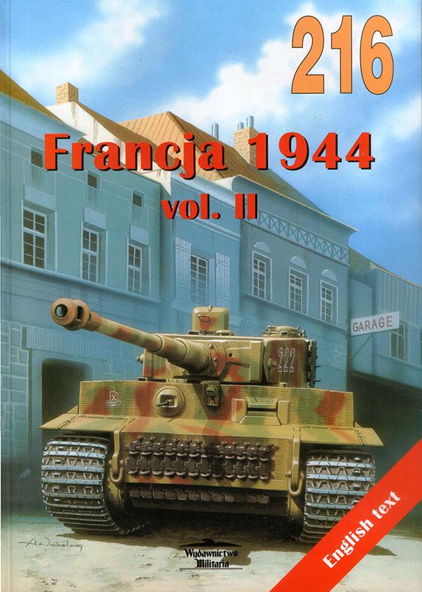 Wydawnictwo Militaria 216 - Francja 1944 v2