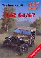 GAZ 64-67 - Wydawnictwo 227