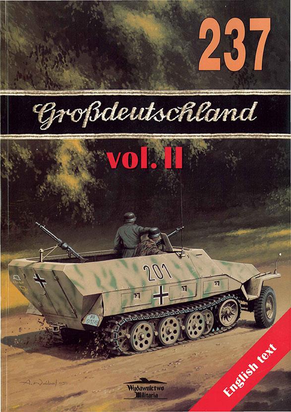 Wydawnictwo Militaria 237 - Grossdeutschland vol III