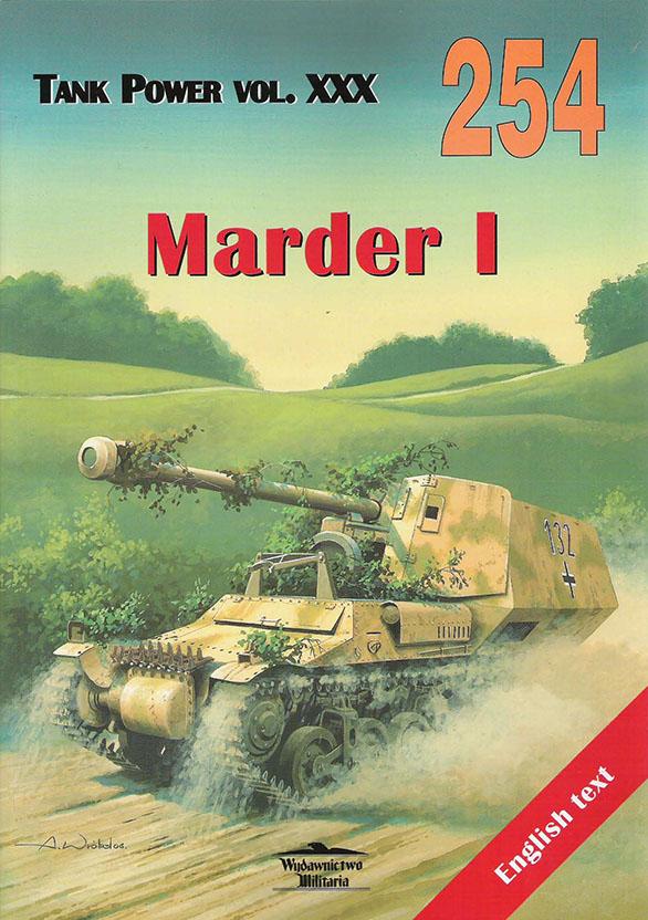 Wydawnictwo Militaria 254 - Marder I
