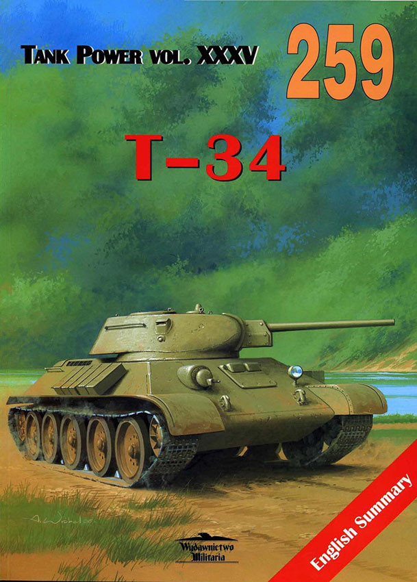 Publishing-Aseistus-259-T-34