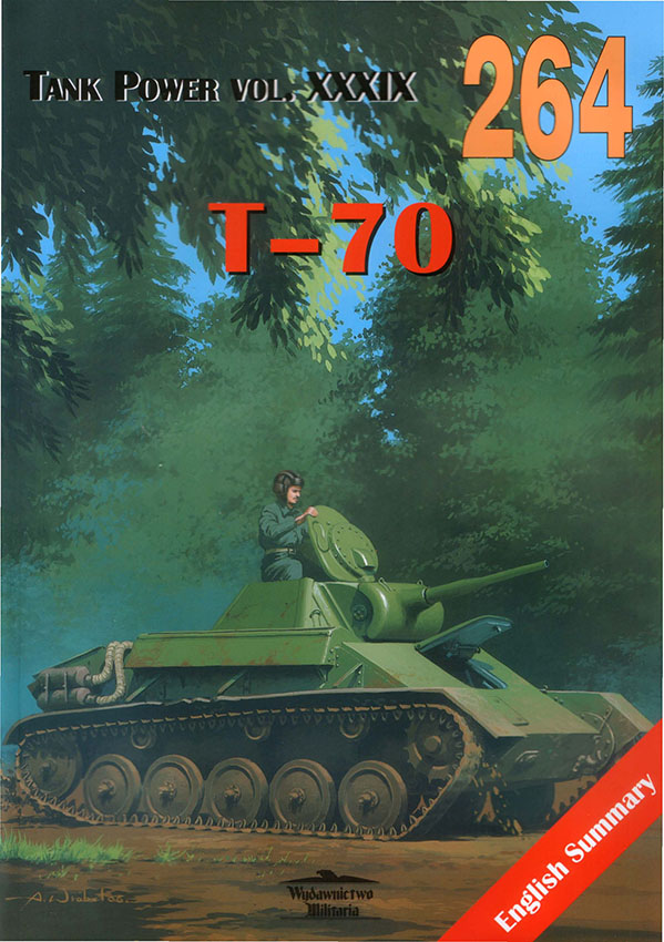 Wydawnictwo Militaria 264 - T-70