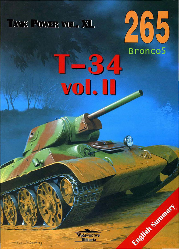 Wydawnictwo-Militaria-265-T-34-vol-II