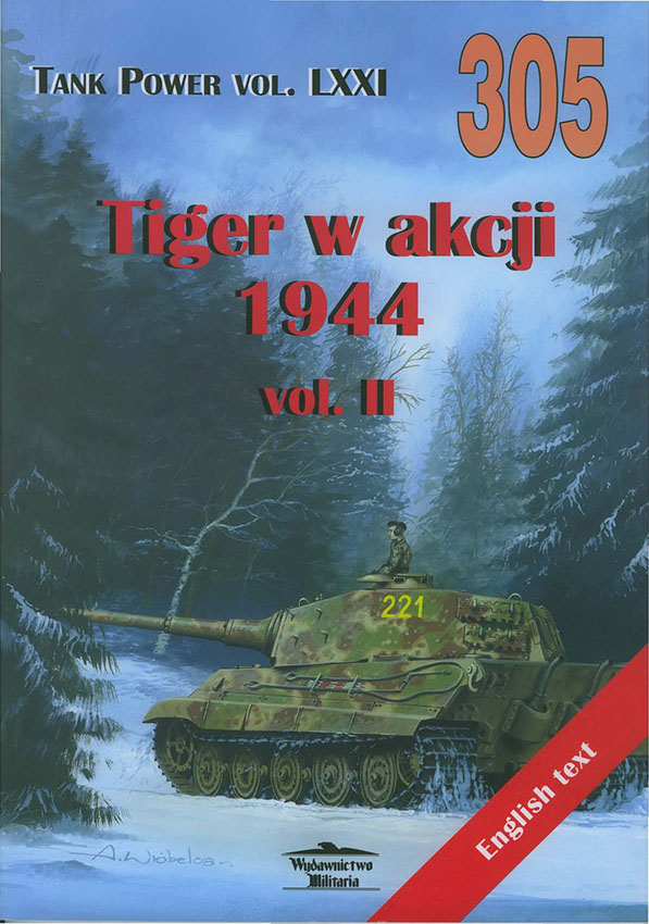 Publishing-aseistus-305-Tiger in Action-1944-vol-II