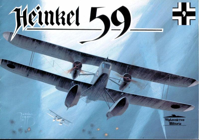 Wydawnictwo Militaria Luchtvaart 009 - Heinkel 59
