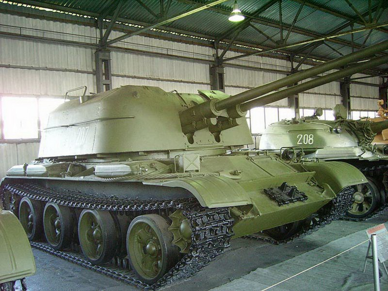 ZSU-57-2 - išorinis sukamaisiais apžiūra