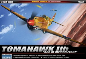 ACADEMY 12235 - TOMAHAWK IIb Ace of African Front
