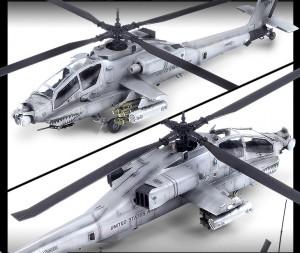 AH-64A - Grå Camo 2003 - ACADEMY 12239
