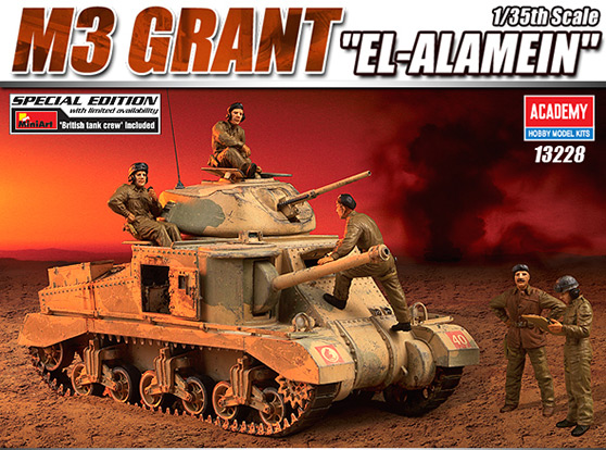 M3 Grant El-Alamein – ACADÉMIE 13228